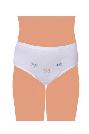 Girl's Combed Cotton Panty (Ages 5-6)