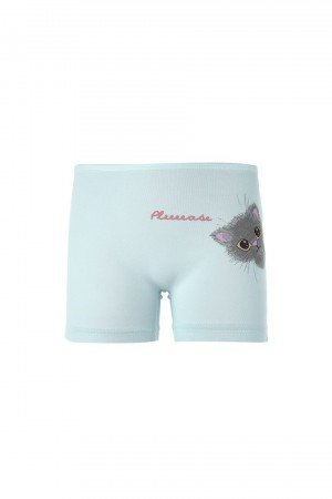 Girl's Cute Cat Print Shorts