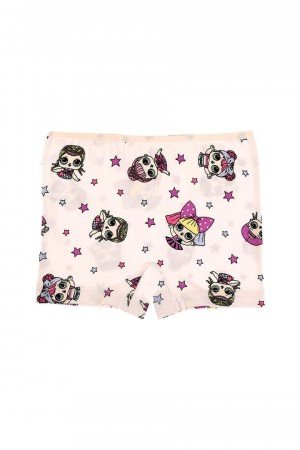 Girl's Printed Shorts- 5 Pieces