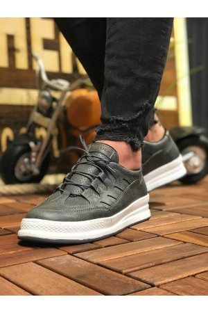 Men's Anthracite Casual Shoes