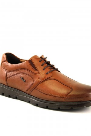 Men's Ginger Leather Shoes