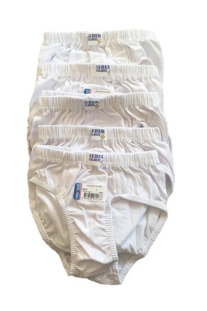 Boy's White Panty- 12 Pieces