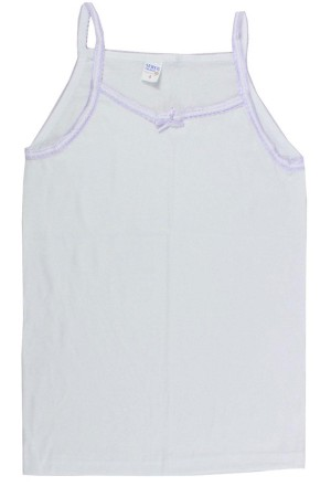 Girl's Thin Strap Camisole- 12 Pieces