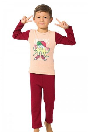 Boy's Long Sleeves Pajama Set