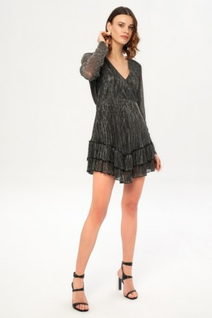 Women's Ruffle Hem Short Dress