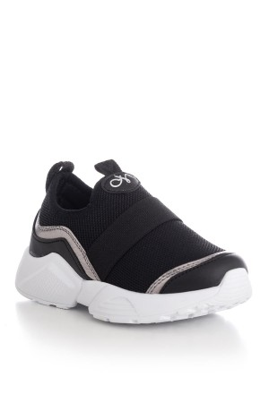Kid's Black Sport Shoes